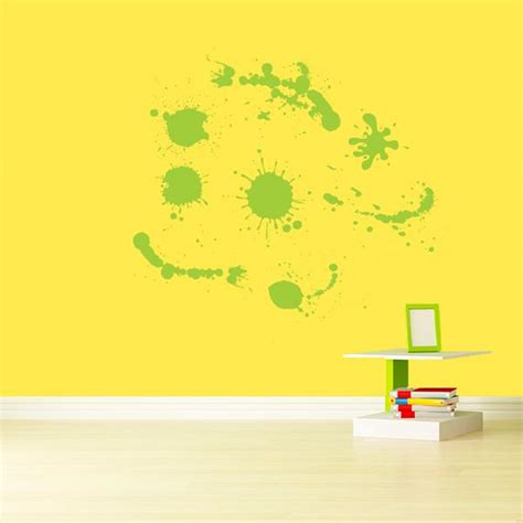 paint stickers for wall paint splatter wall decals wall decal world