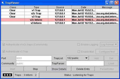 snmp trap webnms snmp utilities mib browser trap receiver snmp