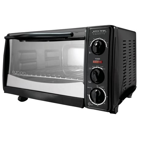 Toaster Oven To1612 pro to1612 6 slice toaster oven black w 12 pizza bump