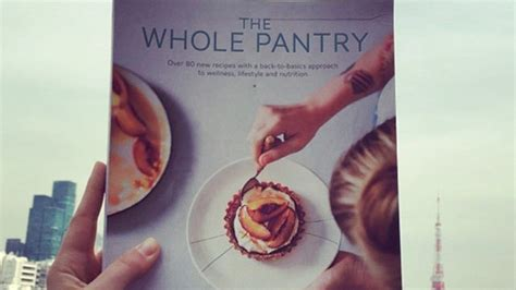 Gibson The Whole Pantry by Wellness Author Gibson S Cancer Claims In Doubt