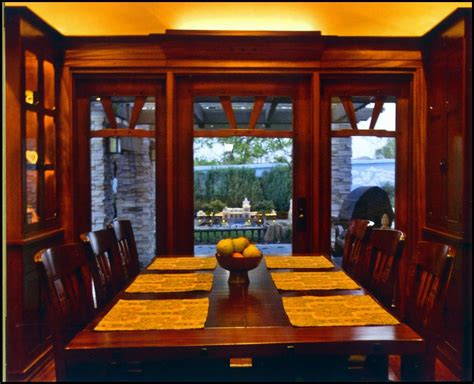 arts and crafts window treatments arts and crafts style doors and windows