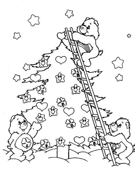 Care Bears Coloring Pages Free Coloring Home Caring Coloring Pages