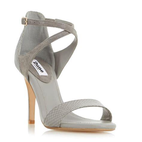 Sandal Gunung Suzuran Crosser Grey 1 dune madeleine strappy cross heeled sandal in