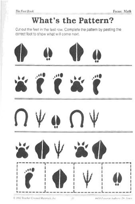printable animal feet dr seuss patterns and sts on pinterest