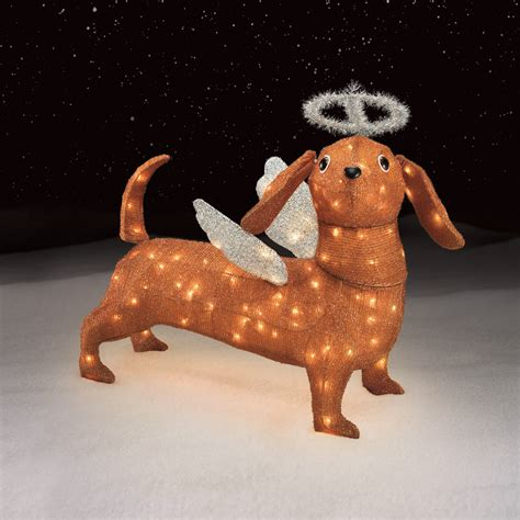 trim a home 174 angel dachshund decoration
