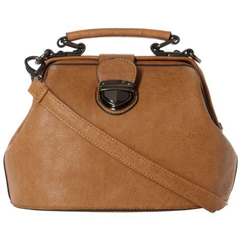 Small Dune Handbag by Dune Lockies Mini Satchel Bag In Brown Lyst