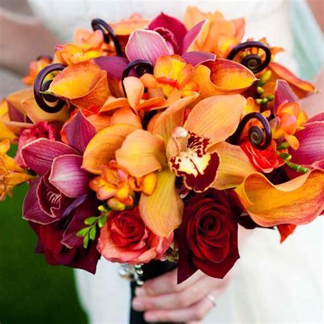 fall flowers for wedding fall bouquets eco beautiful weddings the e magazine