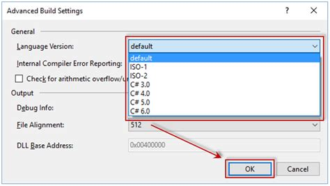 reset settings in visual studio 2015 c how to change language version in visual studio 2015