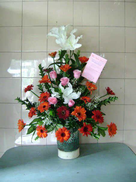 design bunga meja bunga meja gerbera 082298681272 prestisa com
