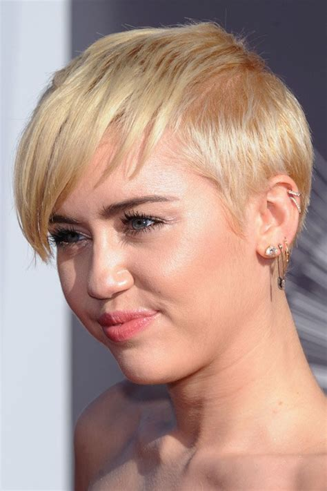 miley cyrus short hair wig celebrity pixie cut hairstyles page 2 of 5 steal her