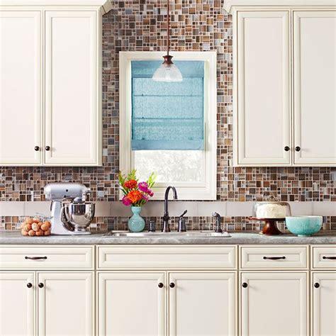 backsplash around window color cabinet vignette tile backsplash to ceiling