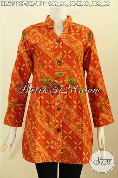 Batik Modis Keren Murah jual blus batik printing modis keren warna cerah pakaian