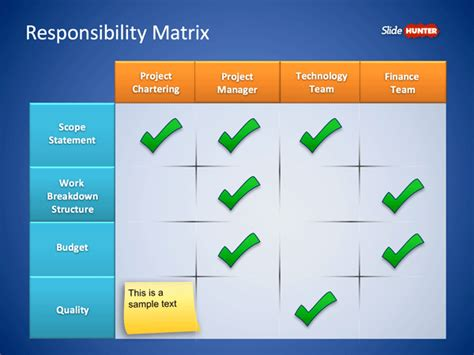 roles and responsibilities template roles responsibilities matrix powerpoint template is a
