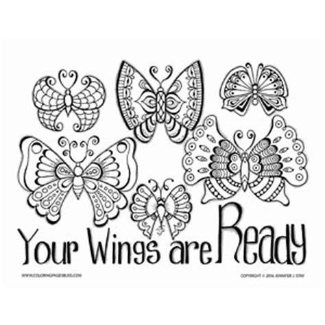 coloring pages bliss blog free inspirational butterfly coloring page