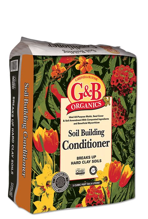 Kellogg Garden Products by Soil Building Conditioner Ideal All Purpose Mulch And Soil