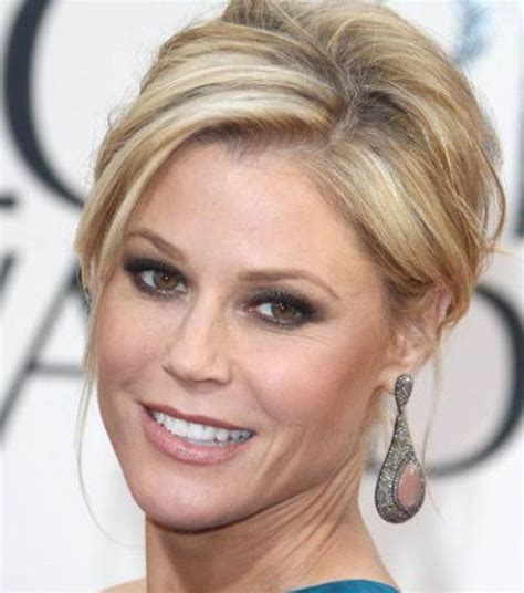 Julie Bowen Formal Chignon   Wedding, Formal, Awards