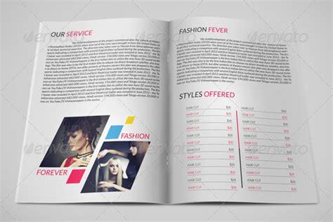 beauty salon brochure template 20 parlour brochure templates free psd designs