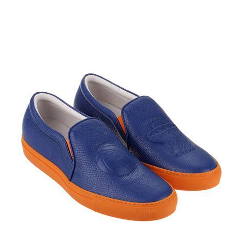 joshua sanders shoes joshua sanders new york knicks leather slip on sneakers in