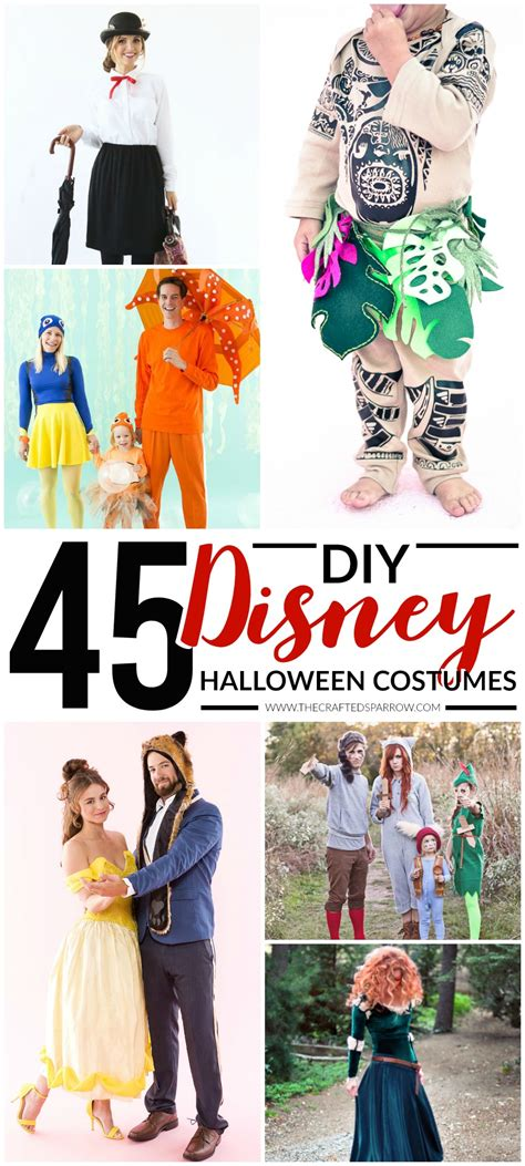 diy disney themed halloween costumes