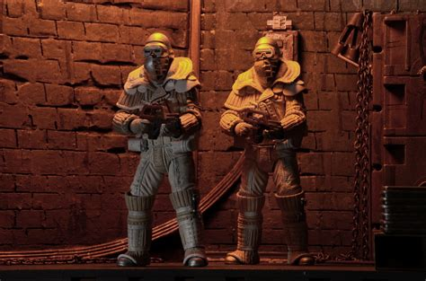 Neca Predators Series 17 Set Of 3 neca aliens series 8 ripley weyland yutani commando
