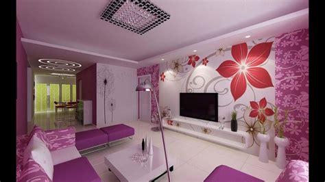 Purple Colour Combination For Living Room - purple interior design living room color scheme