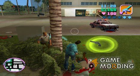gta vice city mod game modding net police weapons upgrade for gta vice city