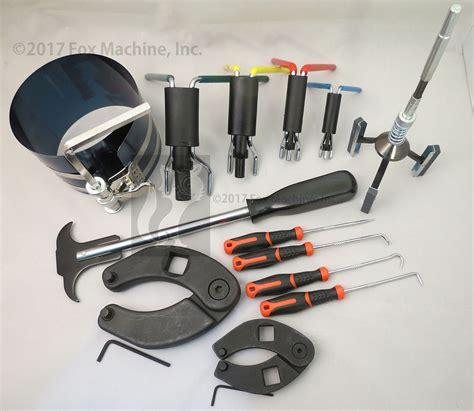 tools for rebuilding hydraulic cylinder repair tool kit for skid steers loaders backhoes etc ebay