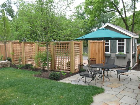 Lattice Around Shed by Simple Wooden Privacy Screen On Decks Design Featuring Varnished Wooden Lattice As Cool