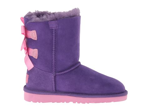 Light Blue Uggs With Bows by Light Purple Bailey Bow Uggs