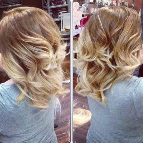 wavy bob with ombre newhairstylesformen2014 com 20 best blonde ombre bob bob hairstyles 2017 short
