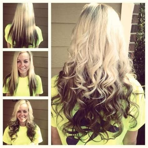 how to do blonde on top and brown underneath 2015 top 6 ombre hair color ideas for blonde girls buy