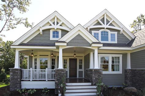 Two Story Farmhouse by Craftsman Style House Plan 3 Beds 2 Baths 2320 Sq Ft