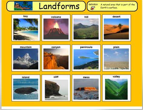 landform printables flashcards cerca con google
