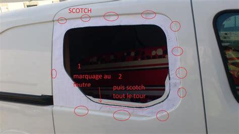 Voiture Avec Porte Coulissante Arriere by Pose De Vitre Sur Porte Coulissante T 244 L 233 E Partner