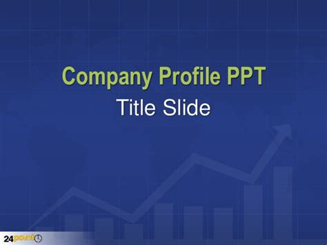 Company Profile Template Ppt Company Profile Powerpoint Template Free