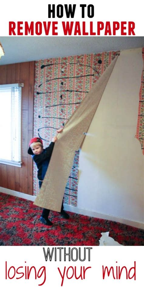 how to remove wallpaper without completely losing your