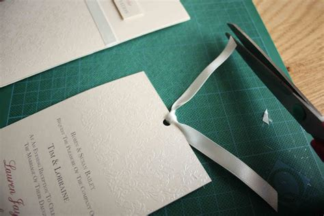 Nns 03 Ns Ribbon Top beautiful handmade wedding stationery