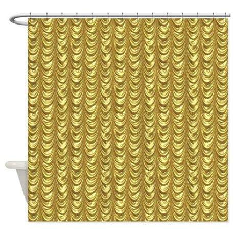 leaf pattern shower curtain gold leaf draping curtain pattern shower curtain by artonwear