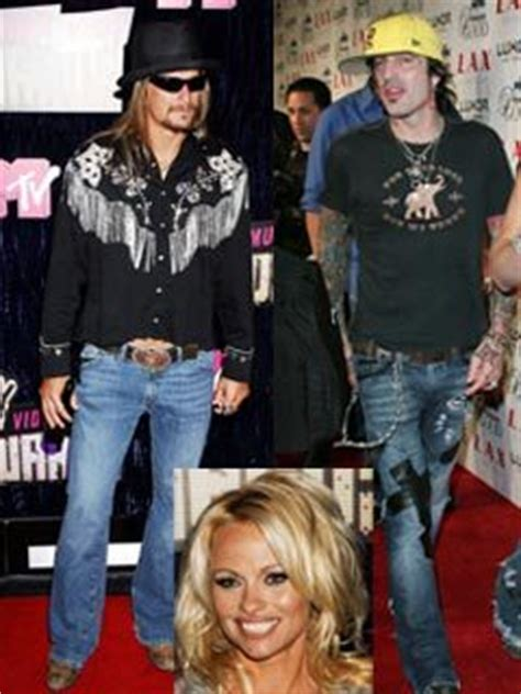 Kid Rock Was Of The Year While Pam Partied by Kid Rock I Punched Because Of Years Of