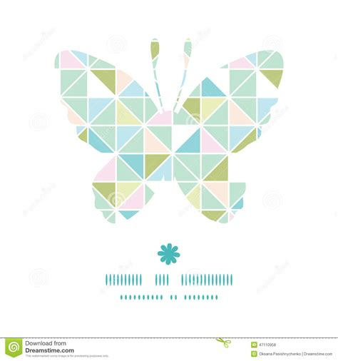 Pastel Graphic Pattern | vector colorful pastel triangle texture butterfly stock