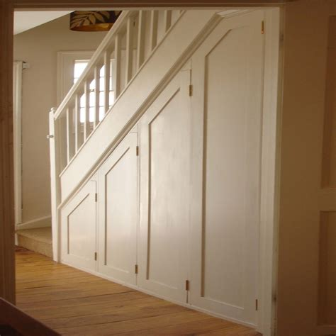 under staircase storage gallery 1 carpenter joiner surrey sutton morden wimbledon
