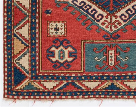 kazak rugs vintage caucasian fachralo kazak rug for sale at 1stdibs