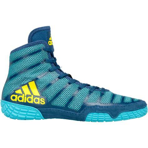 Adidas Adizero Bloe s adizero varner shoe aqua yellow blue