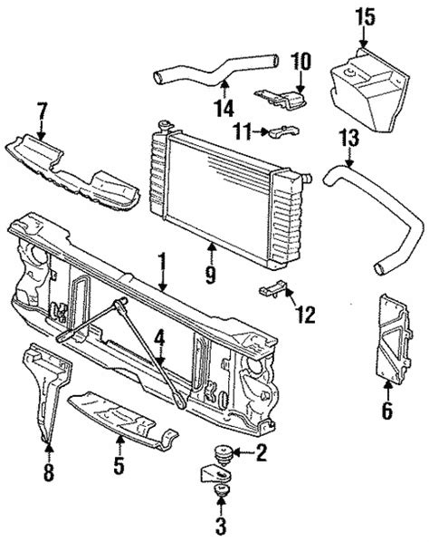 1997 Ford Taurus Radiator Diagram FULL HD Quality Version