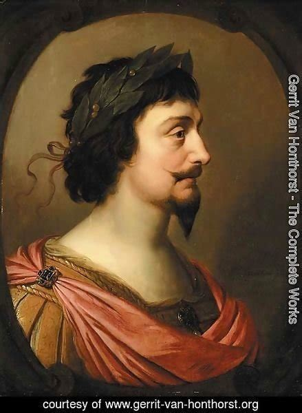 To A King By Labohemian gerrit honthorst the complete works portrait of king frederick v of bohemia bust length
