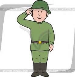 soldier vector clipart