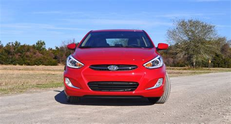 what does the word hyundai 2015 hyundai accent gls sedan review