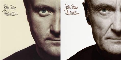 best of phil collins phil collins recreates original album covers for 2016