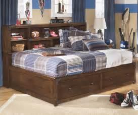 delburne size storage bed b362