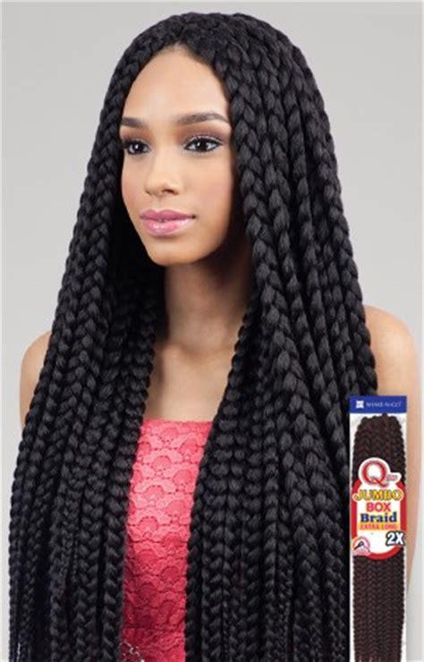 how long can jumbo box braids stay in the head que jumbo box braid extra long 2x